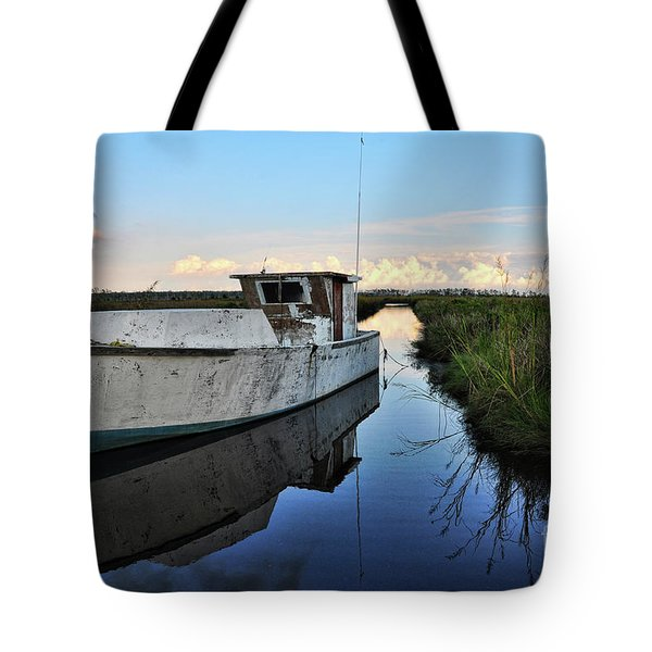 Weathered Reflection Tote Bag