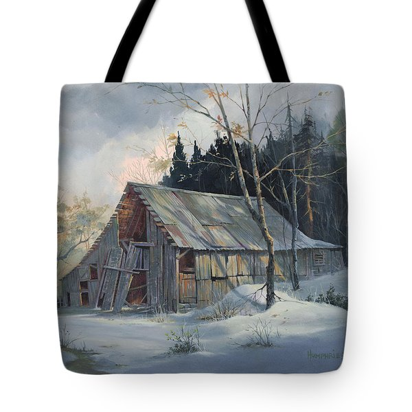 Weathered Sunrise Tote Bag by Michael Humphries