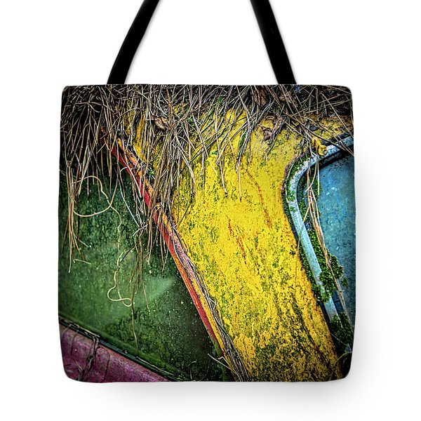 Weathered Vehicle Tote Bag