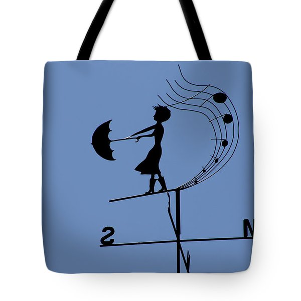 Weathergirl Tote Bag