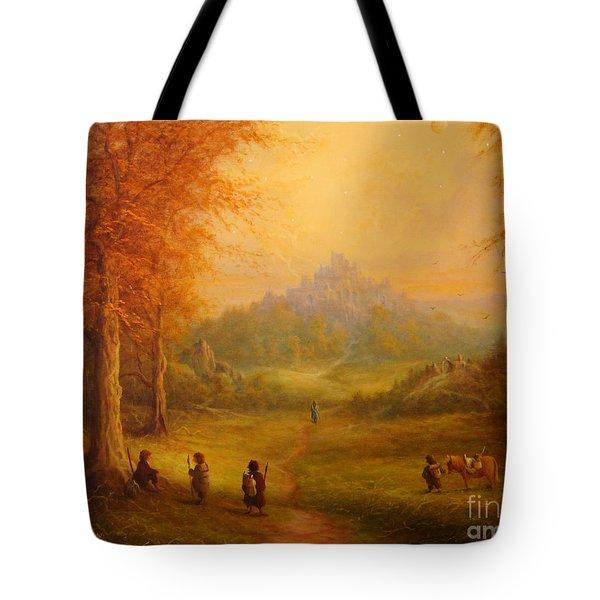 Weathertop Tote Bag by Joe  Gilronan