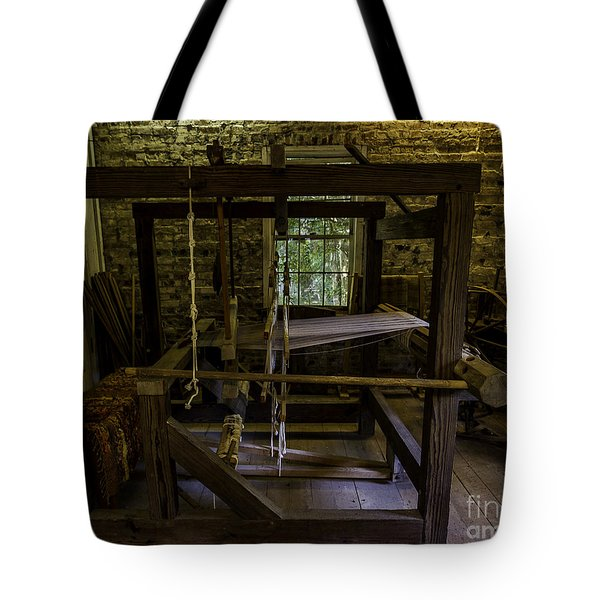 Weaving Room Tote Bag