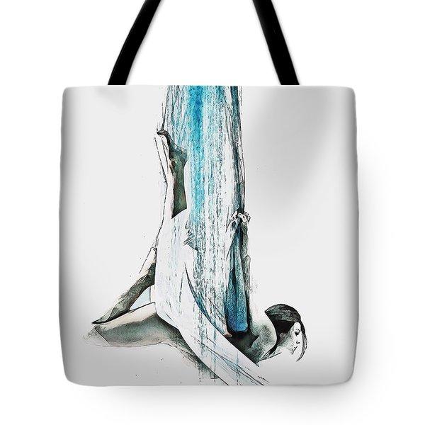 Web - Aerial Dancer Tote Bag