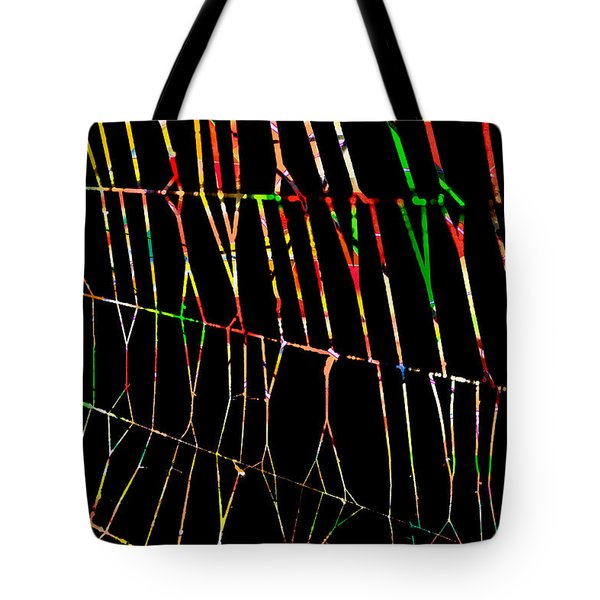 Web Tote Bag by Don Gradner