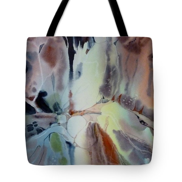 Web Tote Bag by Donna Acheson-Juillet