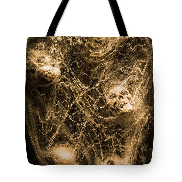 Web Of Entrapment Tote Bag
