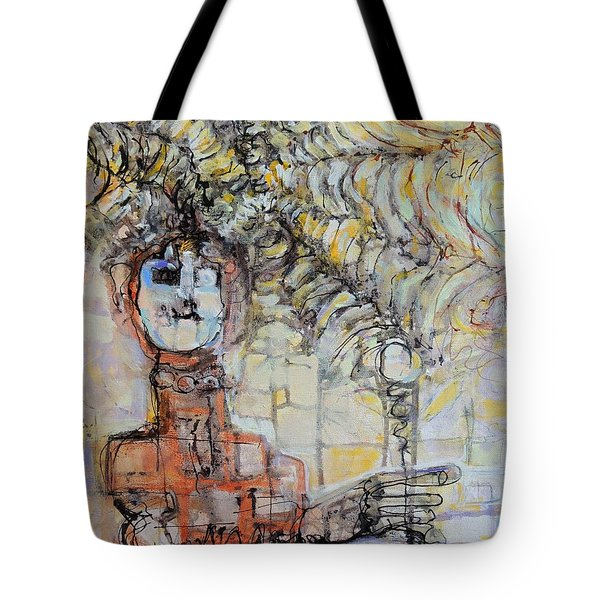 Web Of Memories Tote Bag