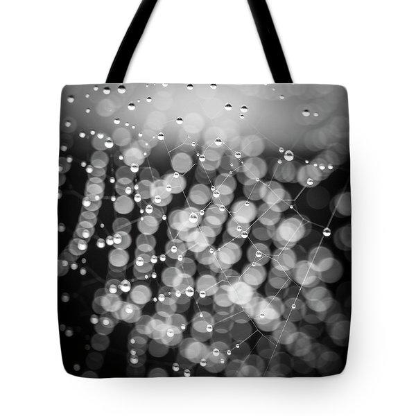 Web Of Water Tote Bag