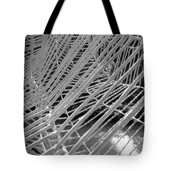 Web Wired Tote Bag by Cathy Dee Janes