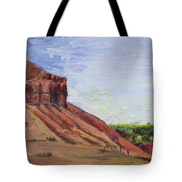 Weber Sandstone Tote Bag