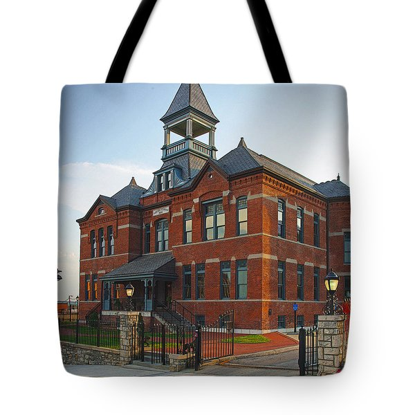 Tote Bag featuring the photograph Webster House by Jim Mathis