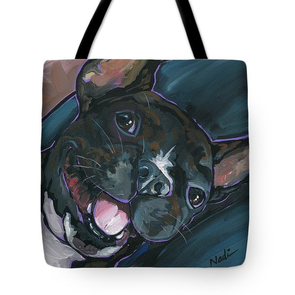 Webster Tote Bag by Nadi Spencer
