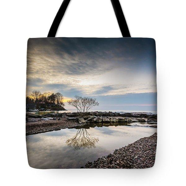 Webster Ny Lake View Tote Bag
