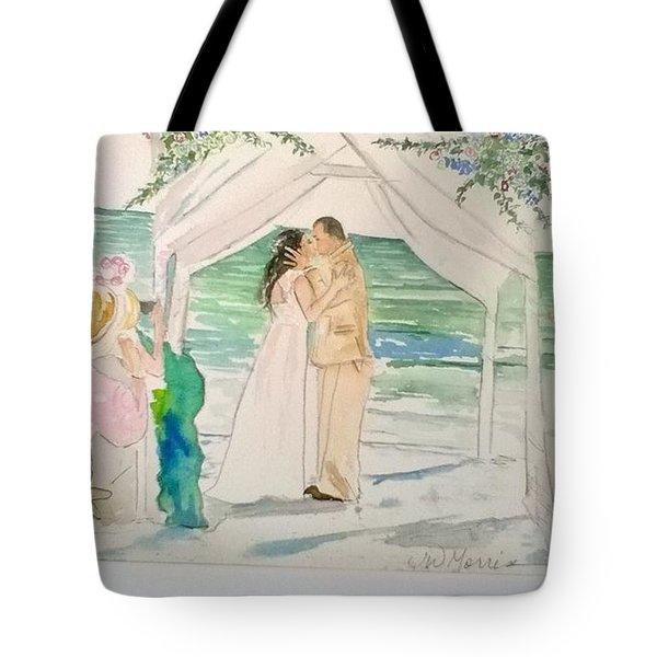 Wedding At Naples, Florida Tote Bag