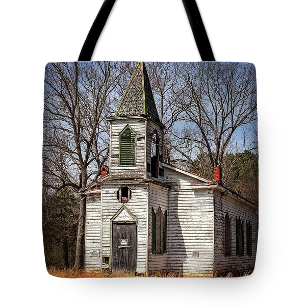 Tote Bag featuring the photograph Wedding Chapel by Alan Raasch