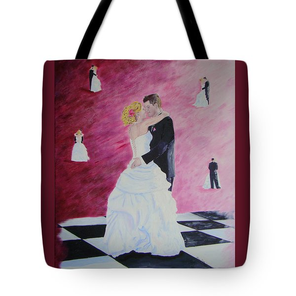 Wedding Dance Tote Bag