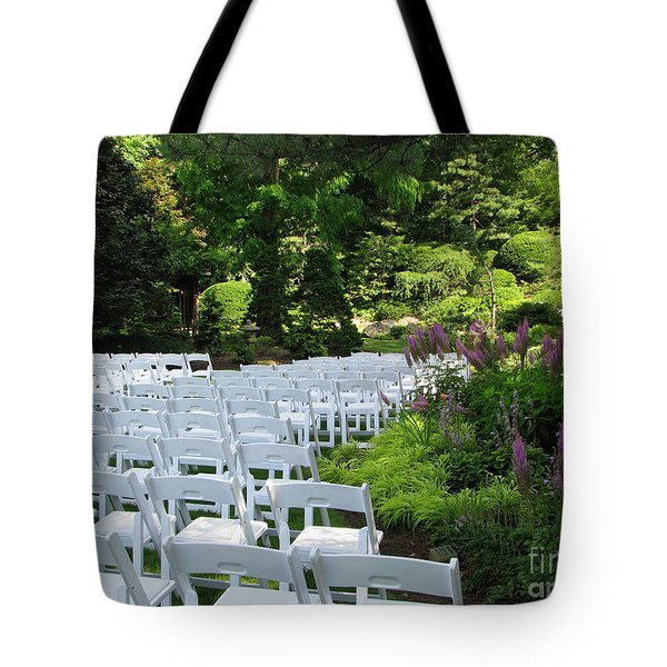 Wedding Day Tote Bag by Michael Krek