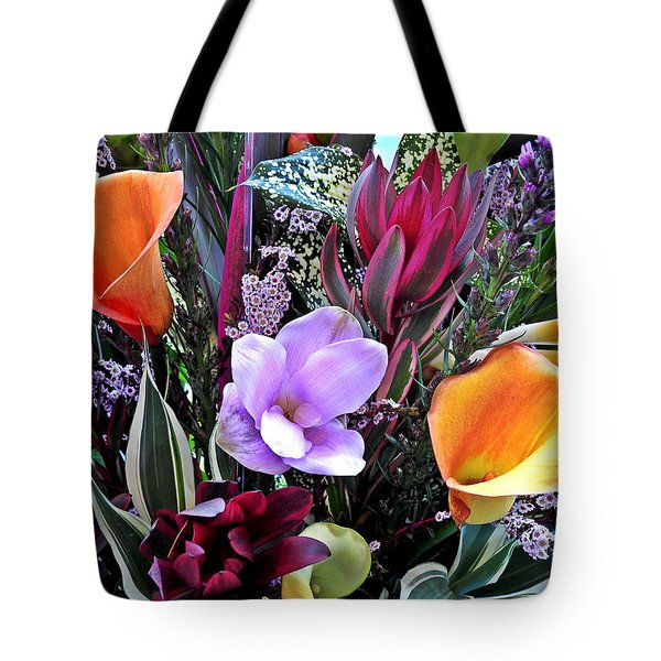 Wedding Flowers Tote Bag by Brian Chase