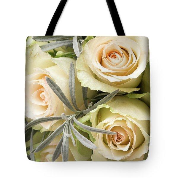 Wedding Flowers Tote Bag
