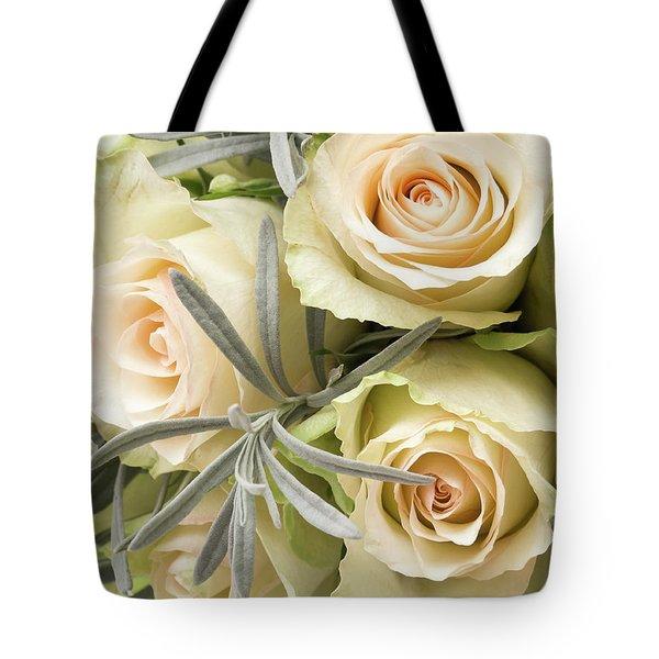 Wedding Flowers Tote Bag by Wim Lanclus