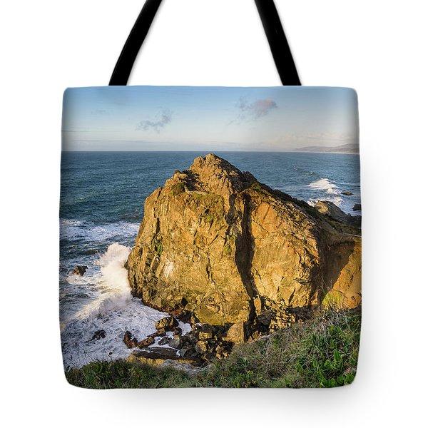 Wedding Rock Evening Light Tote Bag