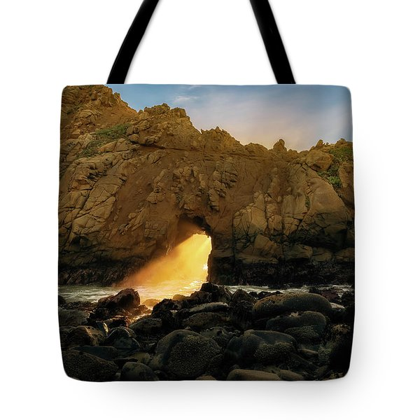 Wedge Of Light Tote Bag