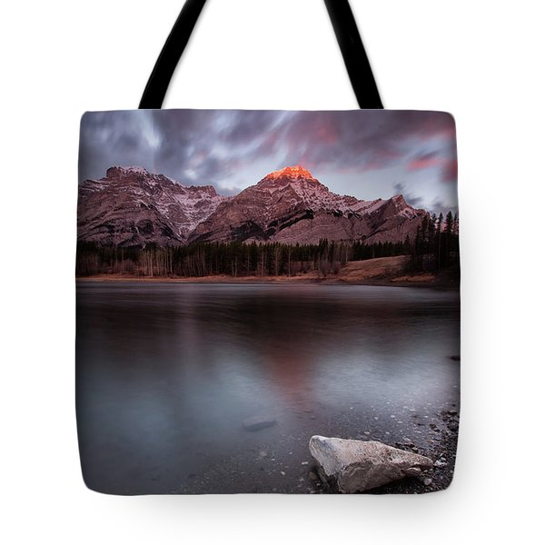 Wedge Pond Dawn Tote Bag