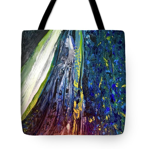 Wednesday Turned Into Thursday Tote Bag by Kicking Bear Productions
