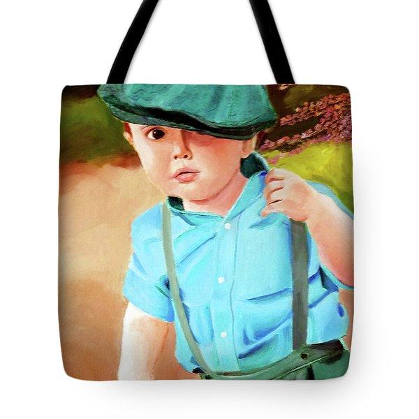 Wee Laddie  Tote Bag