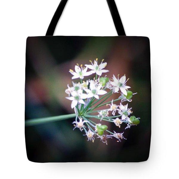 Weed Flower Tote Bag