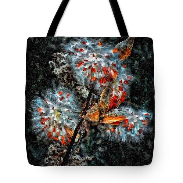 Weed Galaxy Painted Version  Tote Bag by Steve Harrington