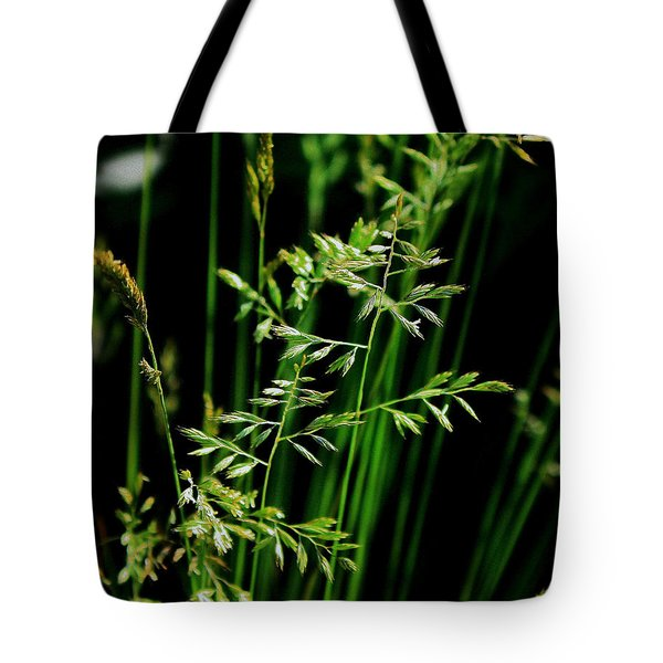 Weeds Tote Bag by Mikki Cucuzzo