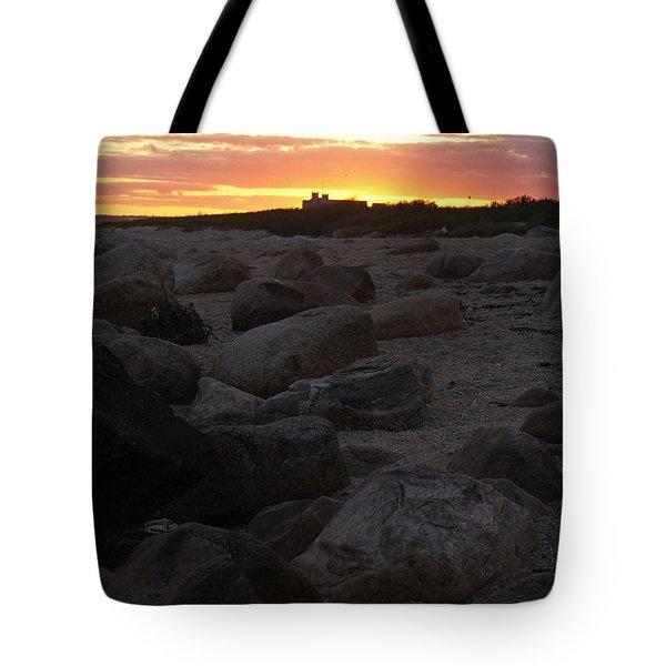 Weekapaug Sunset Tote Bag