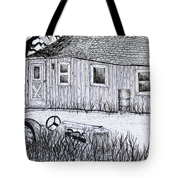 Weekend Camp Tote Bag by Jack G  Brauer