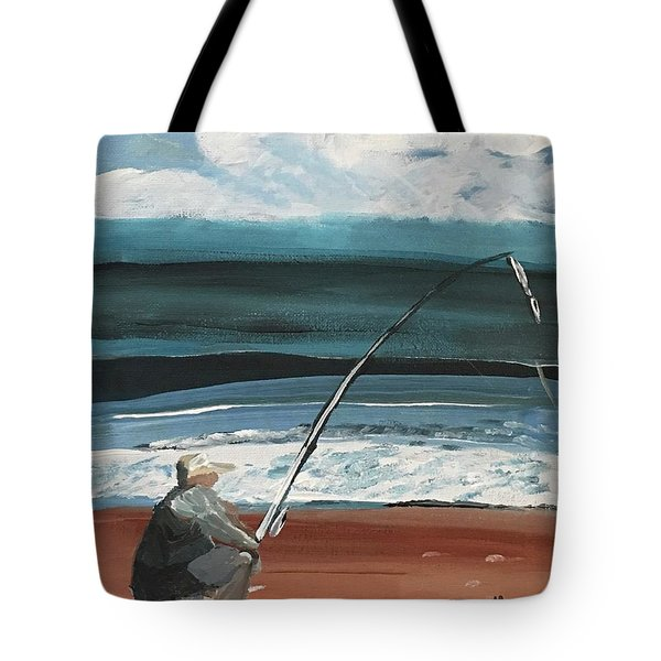 Weekend Fisherman Tote Bag