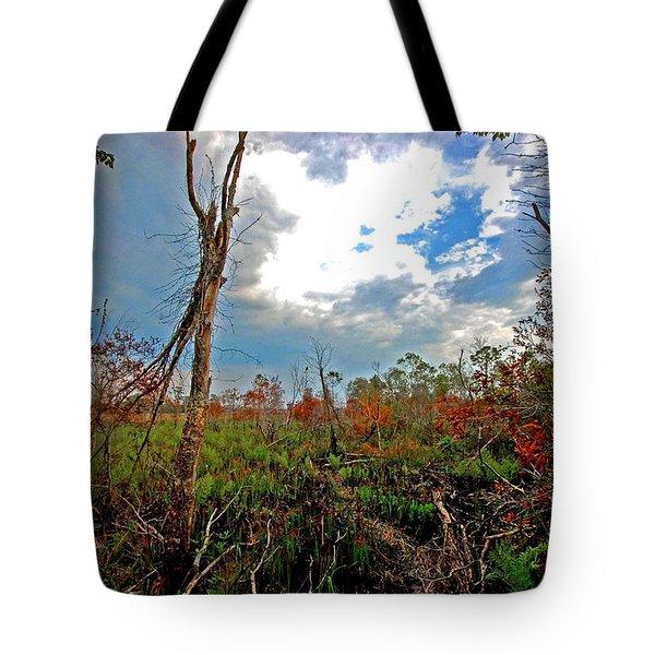 Weeks Bay Swamp Tote Bag by Michael Thomas