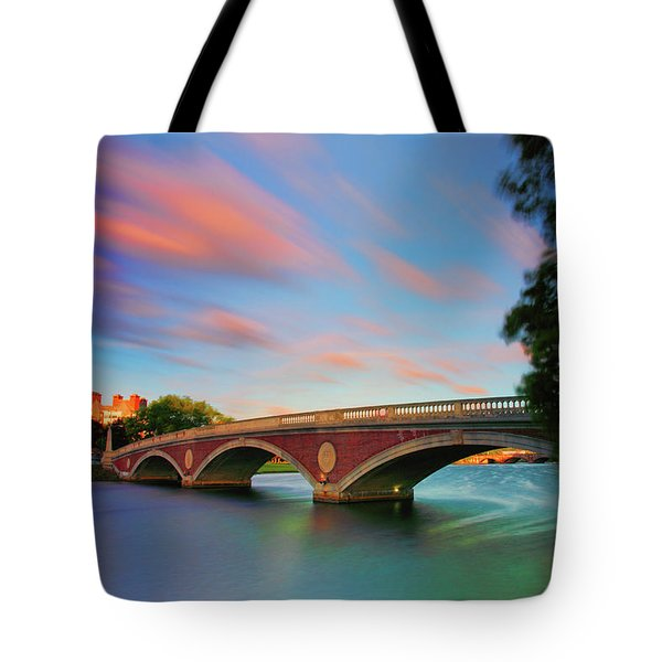 Weeks' Bridge Tote Bag by Rick Berk