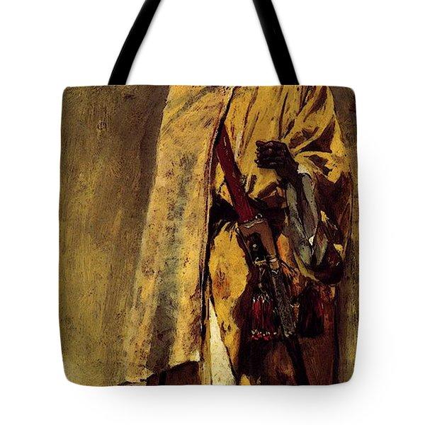 Weeks Edwin Moorish Guard Tote Bag