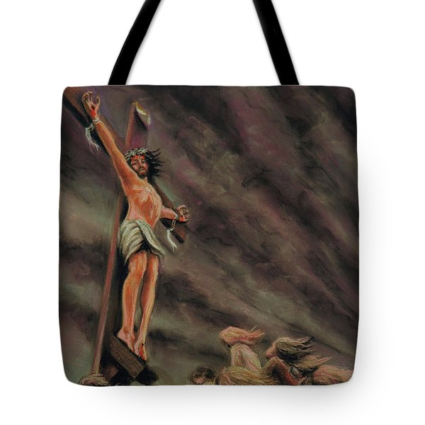 Weeping Children Tote Bag