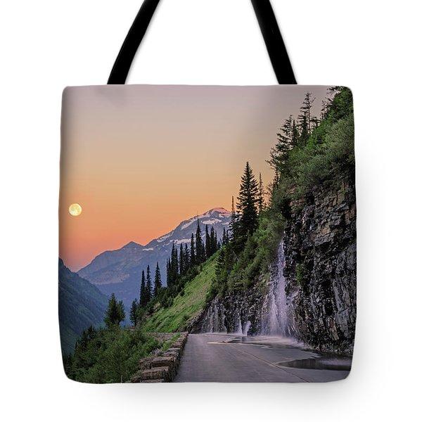 Weeping Wall Dawn Tote Bag