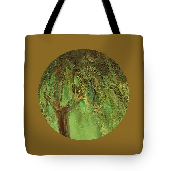 Weeping Willow Tote Bag by Mary Wolf