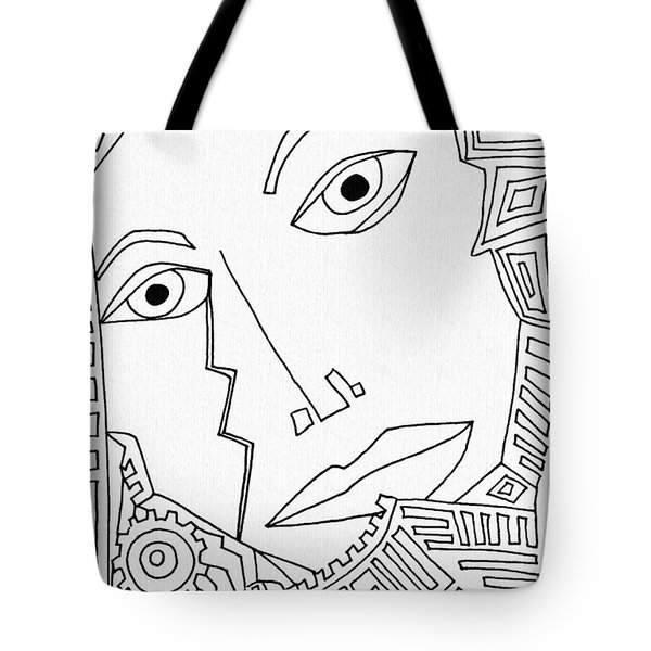 Weeping Woman Tote Bag by Sarah Loft