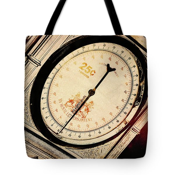 Tote Bag featuring the photograph Weight For It by Michael Hope