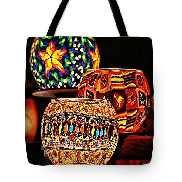 Tote Bag featuring the photograph Weihnachtslichter IIi by Jack Torcello