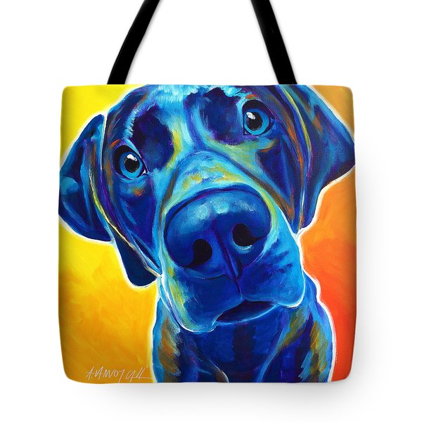 Weimaraner - Bentley Tote Bag