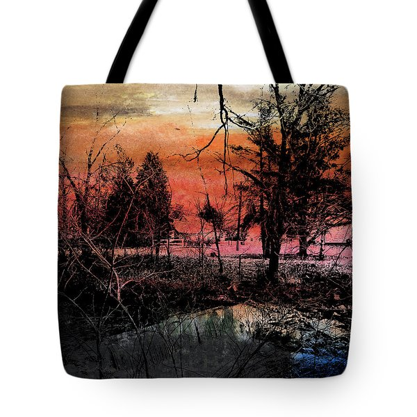 Weir Tote Bag by R Kyllo