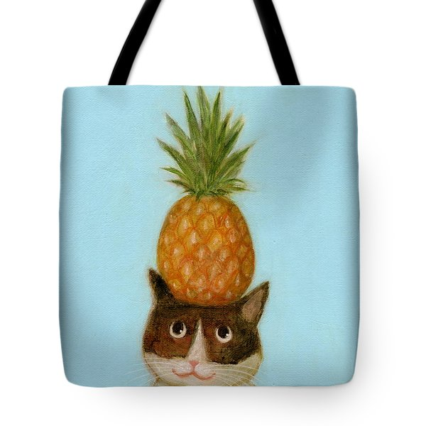 Welcome Cat Tote Bag