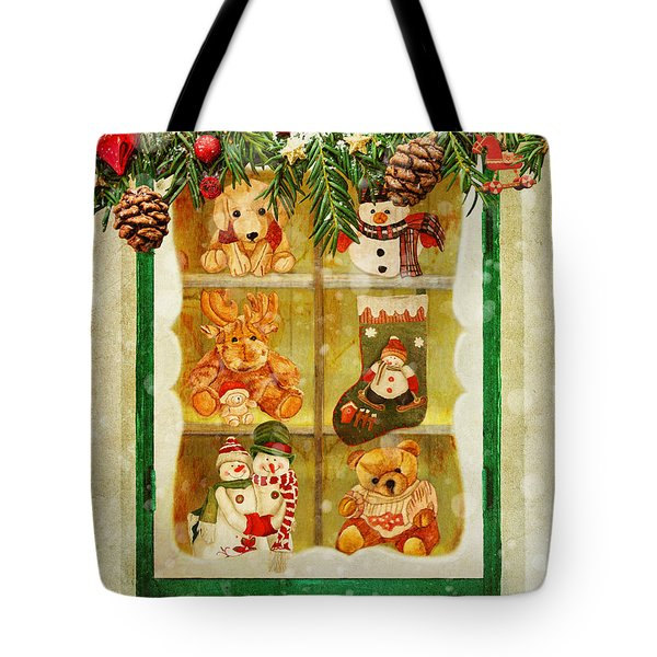 Welcome Christmas Tote Bag