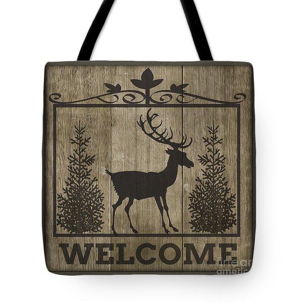 Welcome Elk-jp3461 Tote Bag