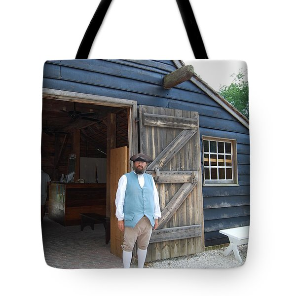 Tote Bag featuring the photograph Welcome by Eric Liller